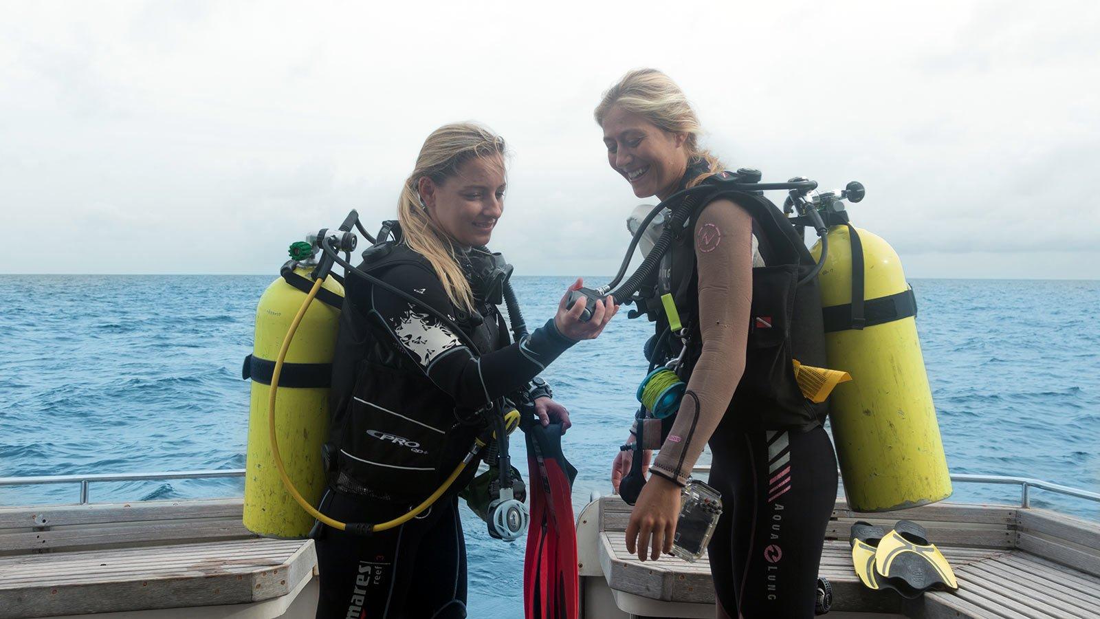 Dive Buddy Check