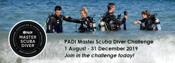 Master Scuba Diver Challenge 2019